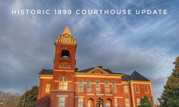🏛 Historic Courthouse Update for April 2019