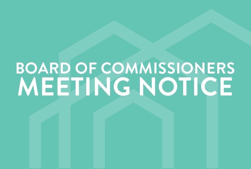 Docket of the April 12, 2021 Board of Commissioner's Meeting