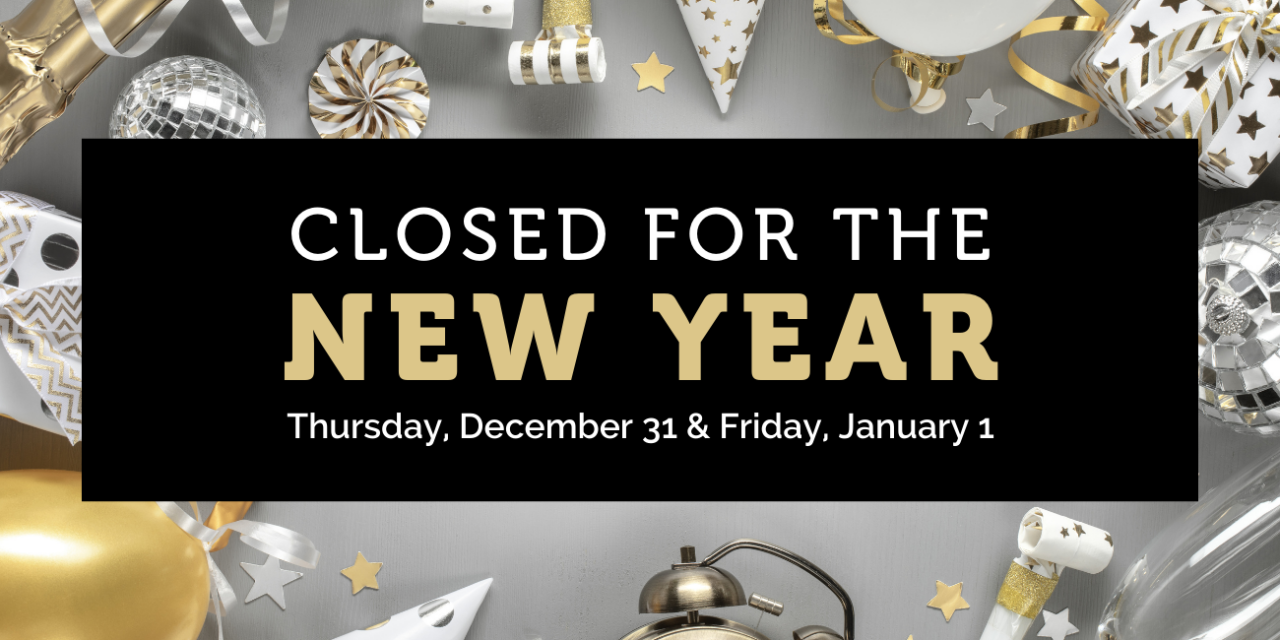 County Offices To Close December 31st and January 1st